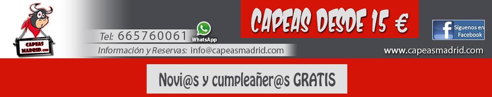 Capeas Madrid